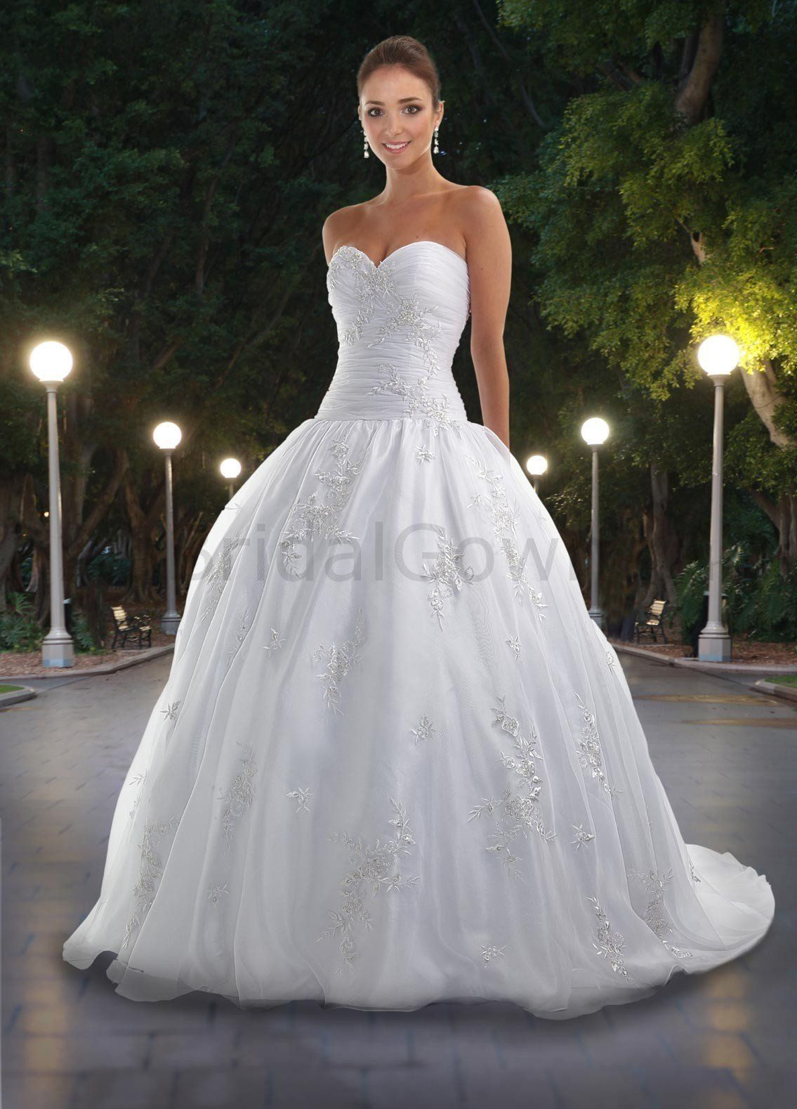 Sweetheart strapless wedding dress  wedding dresses sweetheart neckline  Google Search  Wedding Dress