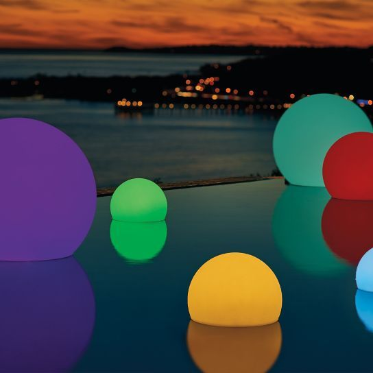 Led Glow Balls Color Changing Led Led Color Cool Pools