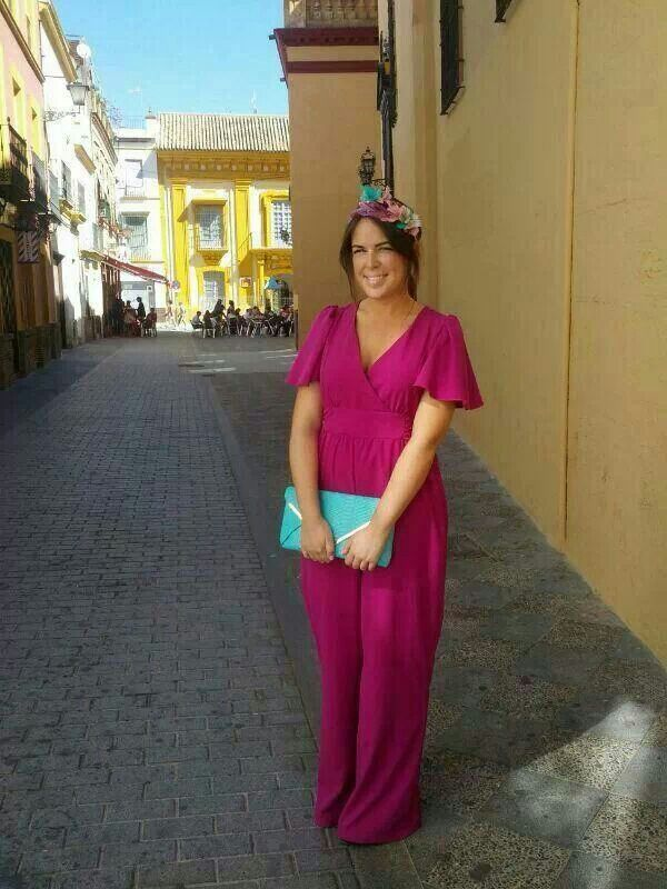 Jumpsuit for a wedding guest