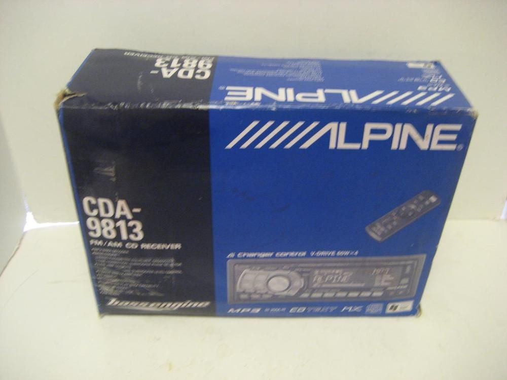 alpine cda 9853 cd mp3 wma receiver in box w remote mounting rh pinterest co uk alpine cd receiver manual alpine audio manual