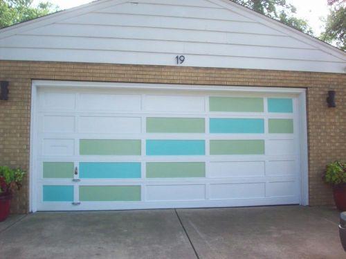 12 Fun Photos From Our Recent Uploader Garage Doors Garage Door Colors Retro Renovation