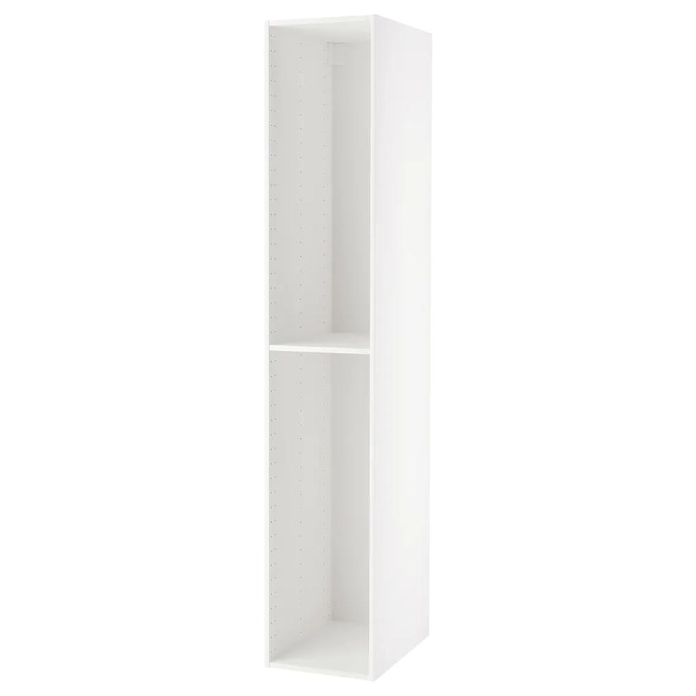 Metod Structure Element Armoire Blanc 40x60x220 Cm Ikea Ikea Armoire Blanche Armoire