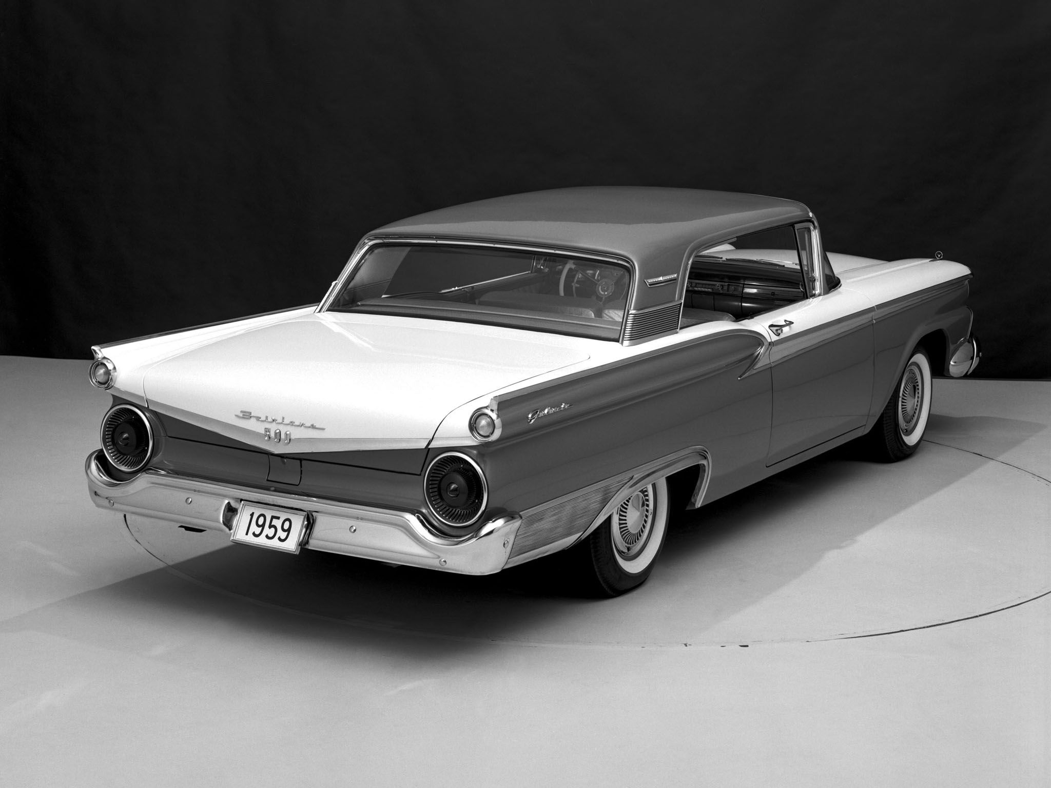 1959 Ford Fairlane 500 Galaxie Club Victoria With Images Ford