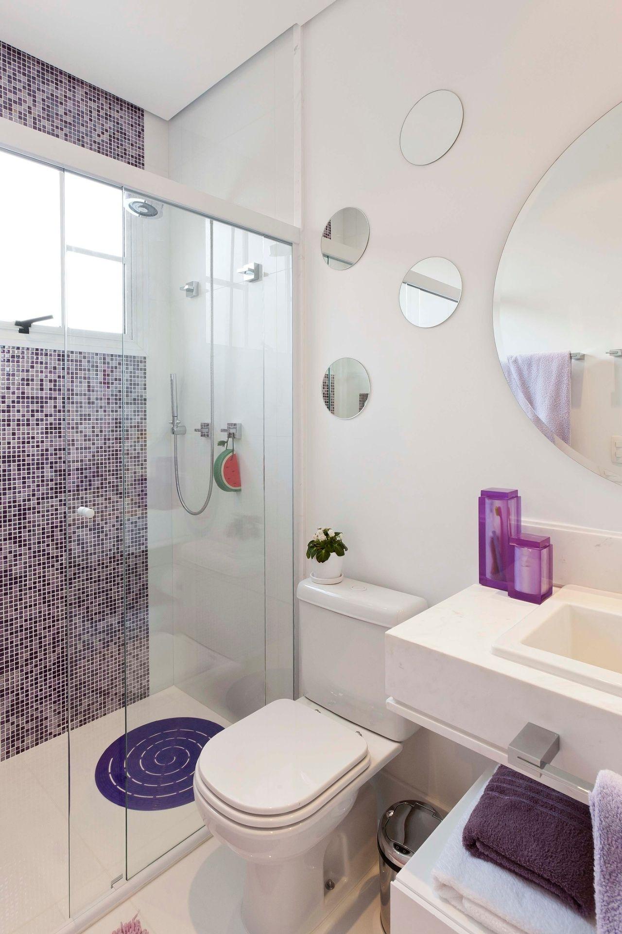 Banheiros pequenos dicas de decoração para quem tem pouco espaço -> Dicas De Decoracao De Banheiro Pequeno