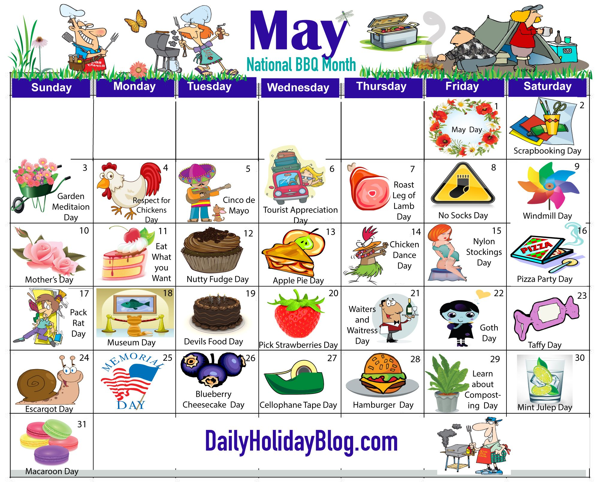 may holiday calendar … Holiday calendar, Holidays in may