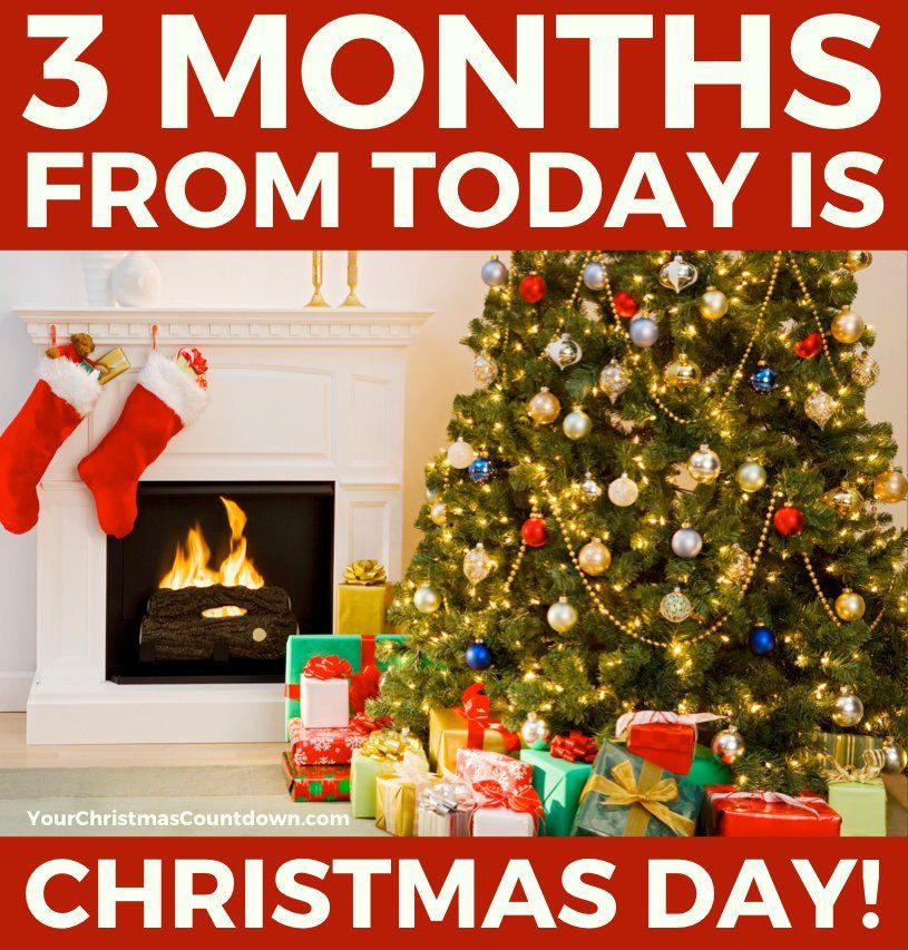 Image result for 3 months until christmas eve Days till