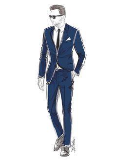 Suit illustration