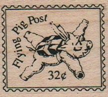 Flying Pig Post 1 1/2 x 1 1/2