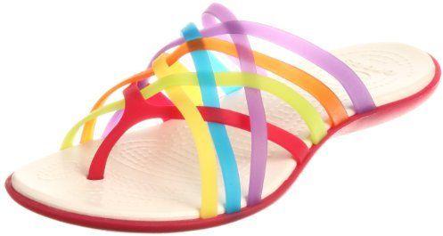 Huarache Flip Flop | Crocs huarache, Womens flip flops, Sandals
