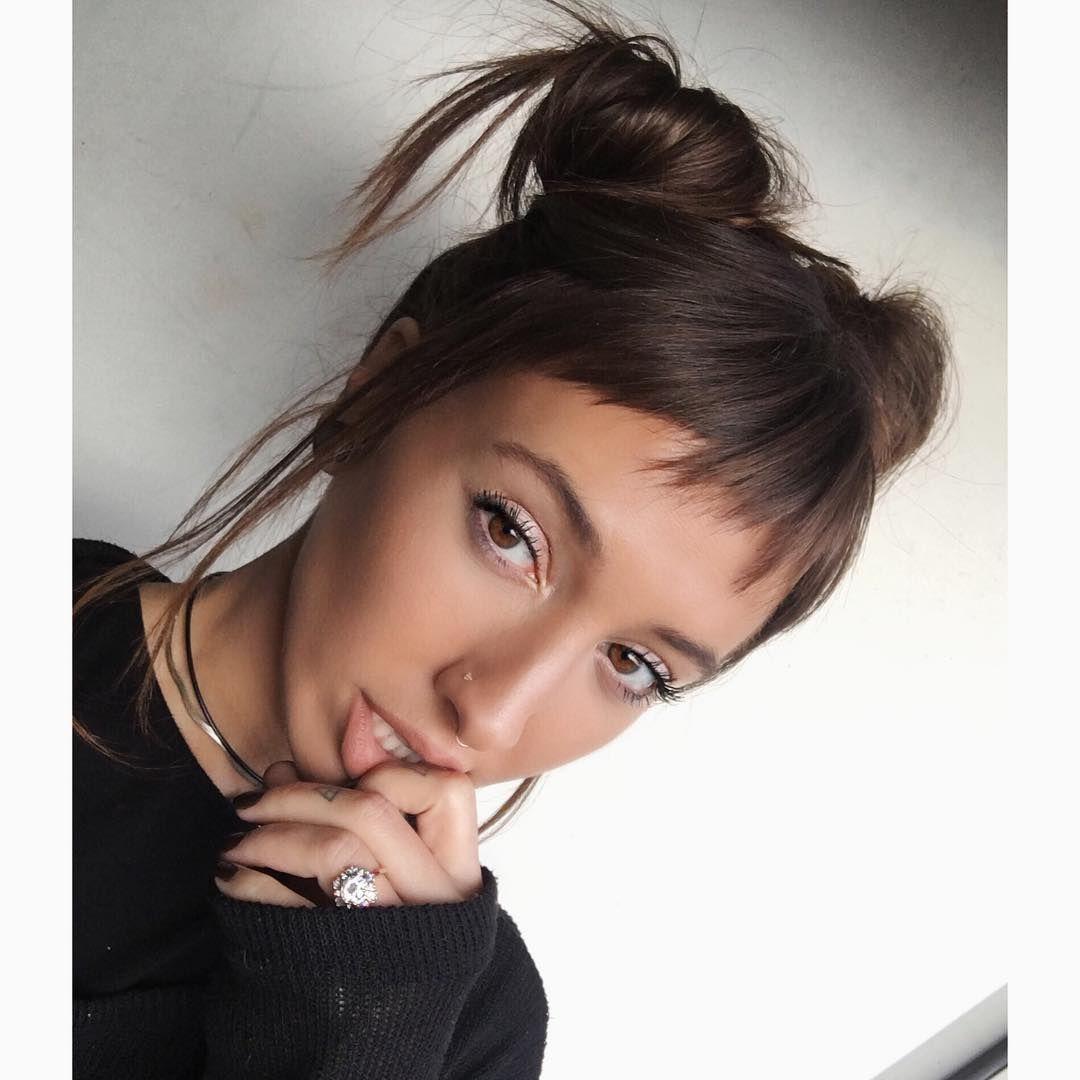 Cute Hair In 2020 Cute Hairstyles Short Hair Bun Short Hair Styles