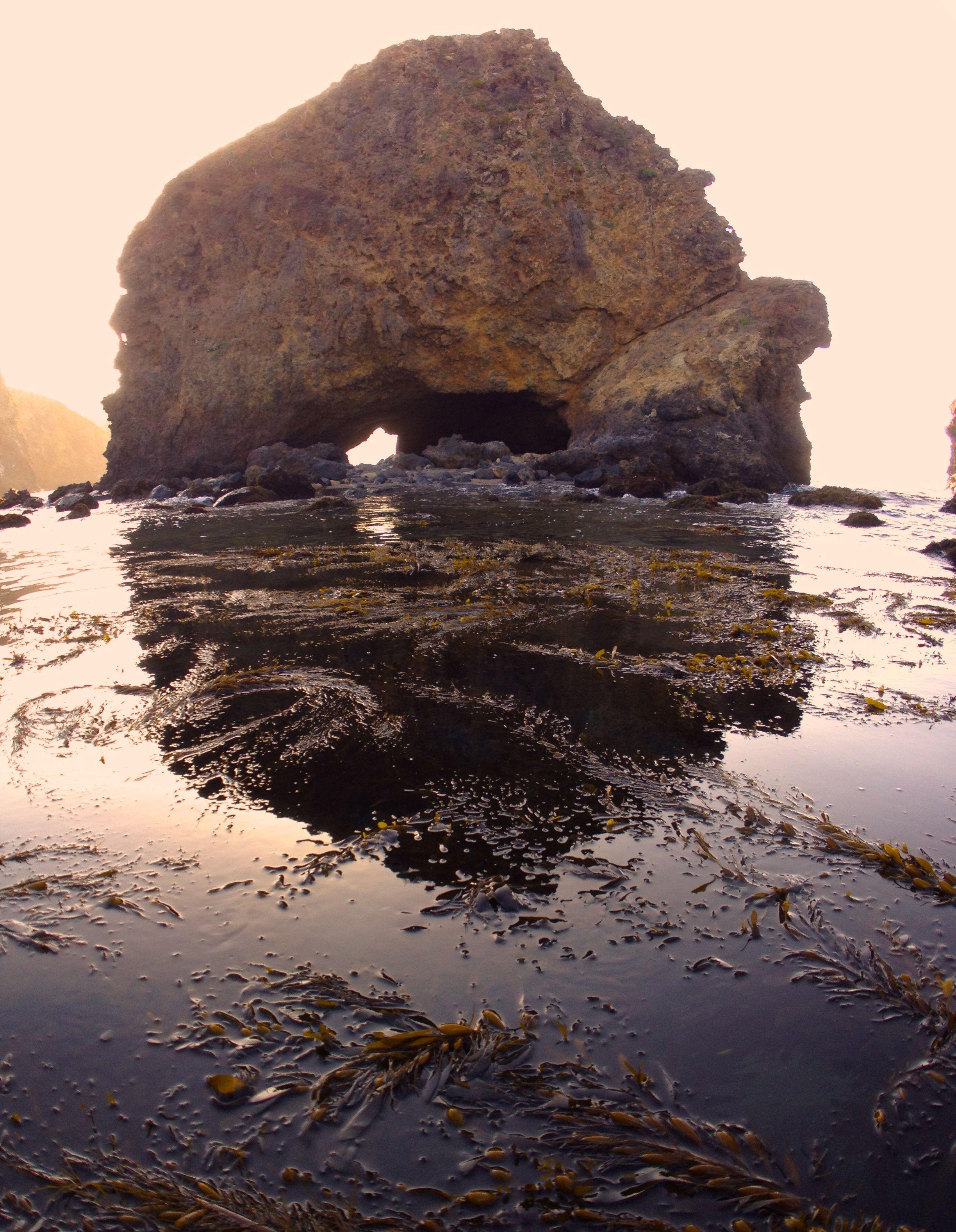 The Rock, Little Scorpion Anchorage, Santa Cruz Island, CA