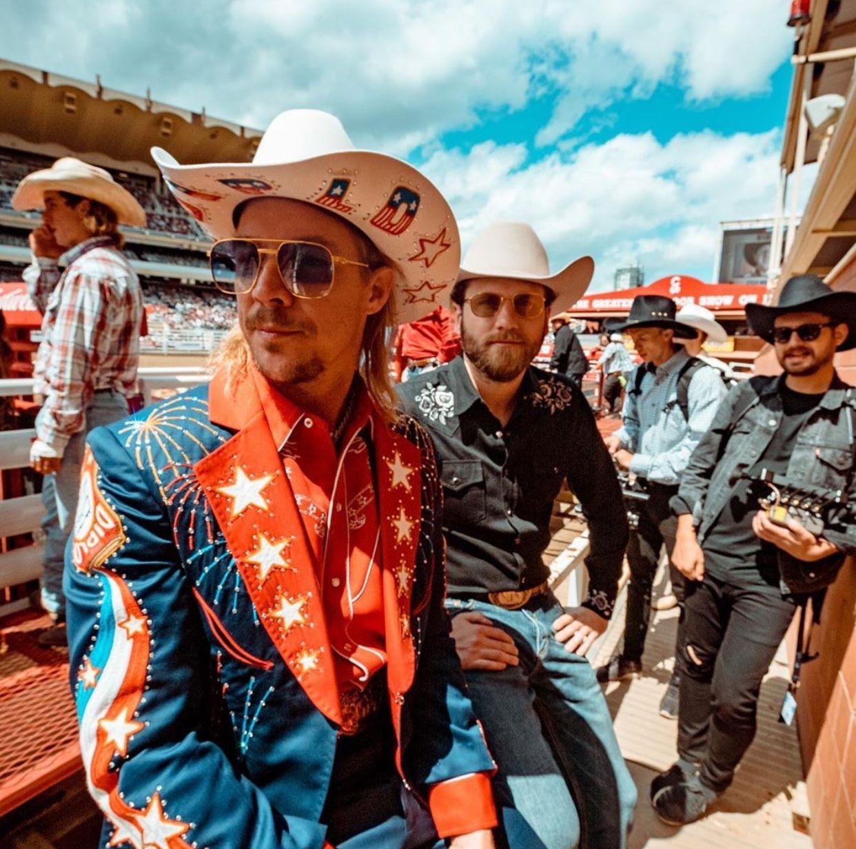 Cr brandondermer Diplo, Cowboy hats, Cowboy