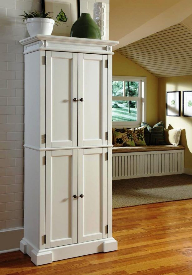 Kitchen Freestanding Pantry Uk White Ideas For Your Neat And Organized E