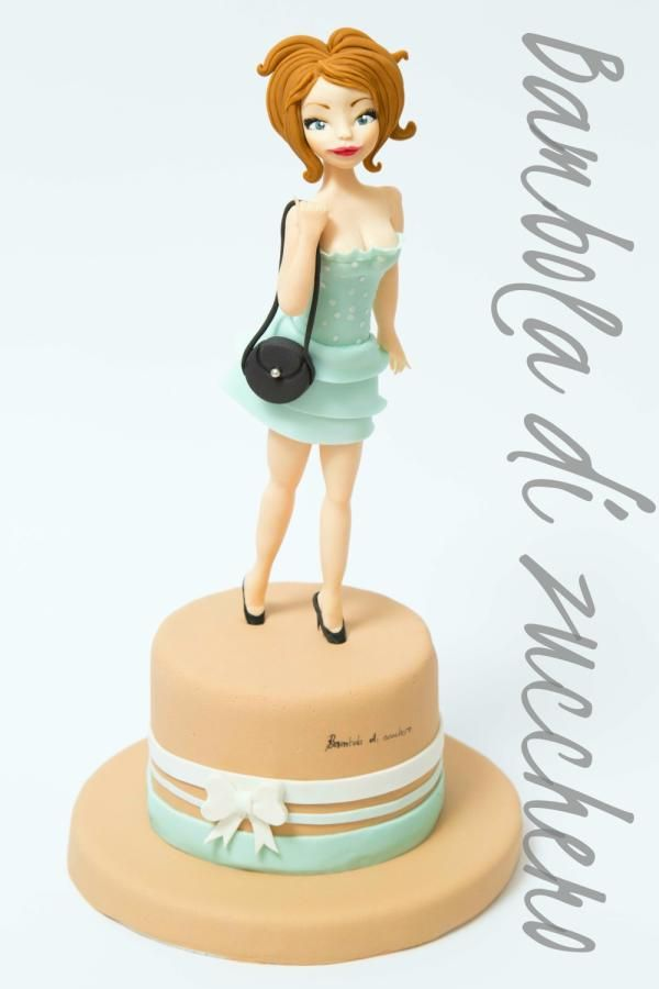 career woman - cakebamboladizucchero | cake decorating ideas