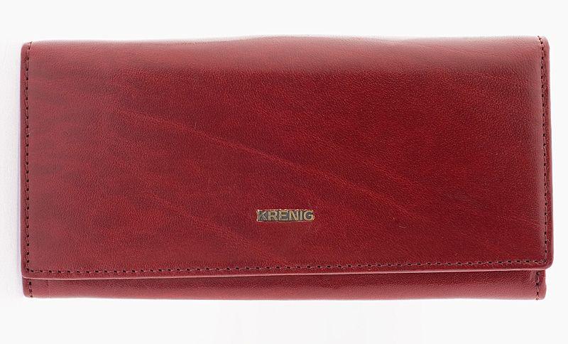 Genuine real leather cherry womens wallet el dorado