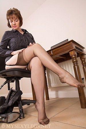 Christine from my sexy legs