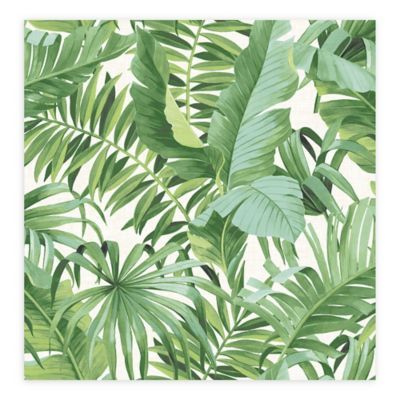 Alfresco Palm Leaf Wallpaper In Products Palm Wallpaper