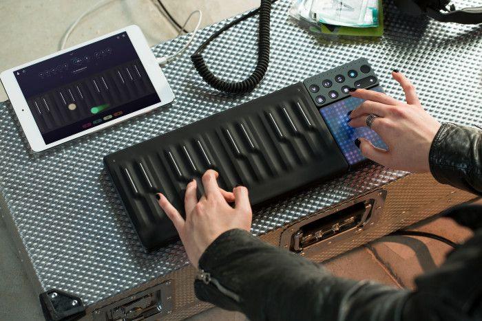 Seaboard Block Roli Music Keyboard Portable Music Synthesizer