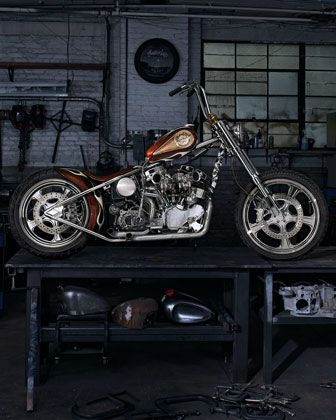 "Indian Larry's ""Wild Child"" Motorcycle $750,000"