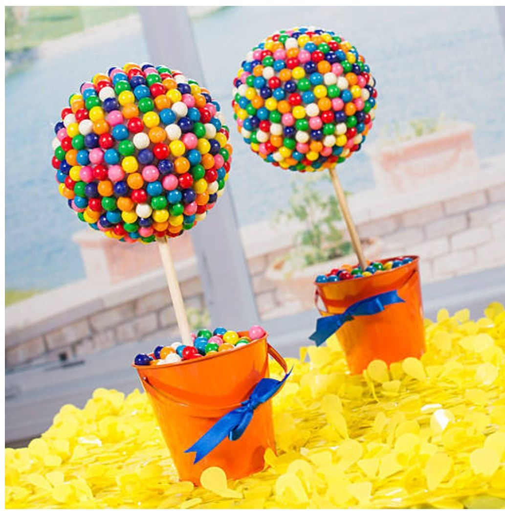 Gumball Tree Candy Table Candy Party Candy Themed Party