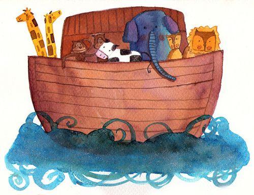 illustrations arca de noe - Buscar con Google