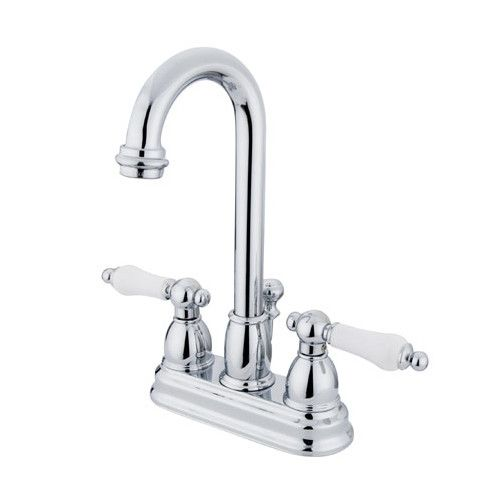 Centerset Bathroom Faucet With Drain Assembly Bathroom Faucets Sink Faucets Bar Faucets