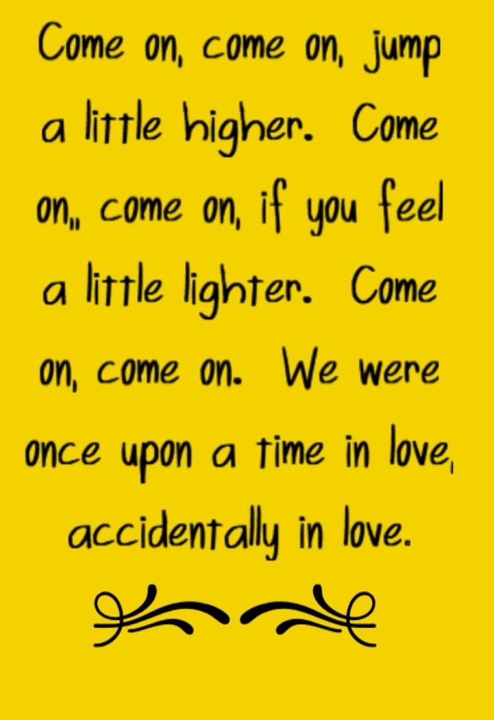 Counting Crows - Accidentally in Love - song lyrics, song quotes ...