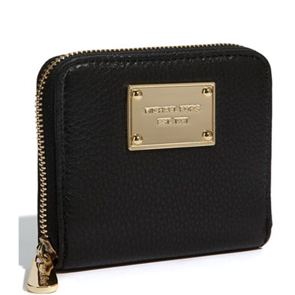 MICHAEL Michael Kors Jet Set Soft Venus Small Zip Around Wallet - Free invoice online michael kors outlet online store