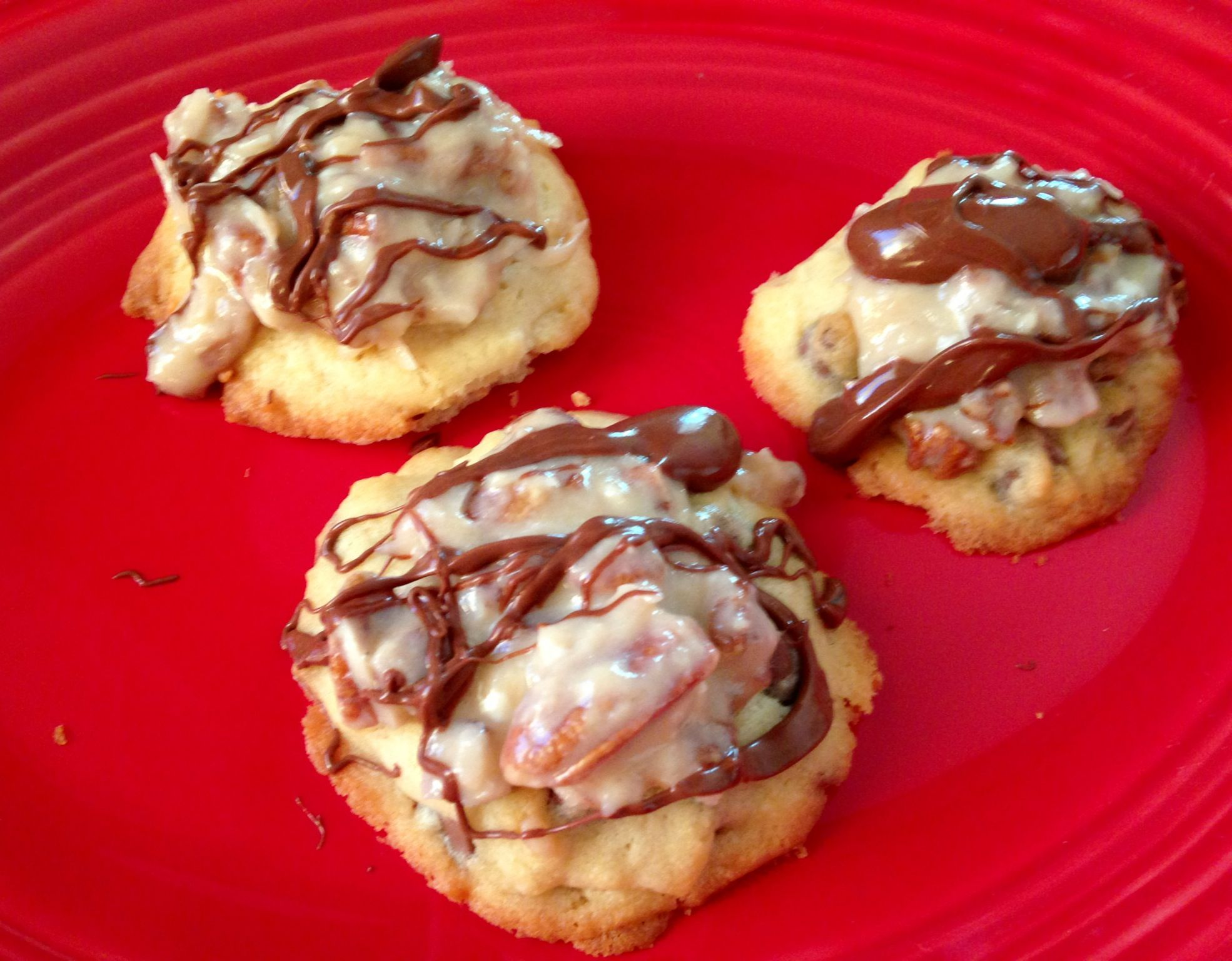 Chocolate Chip Coconut Pecan Cookies Done It On