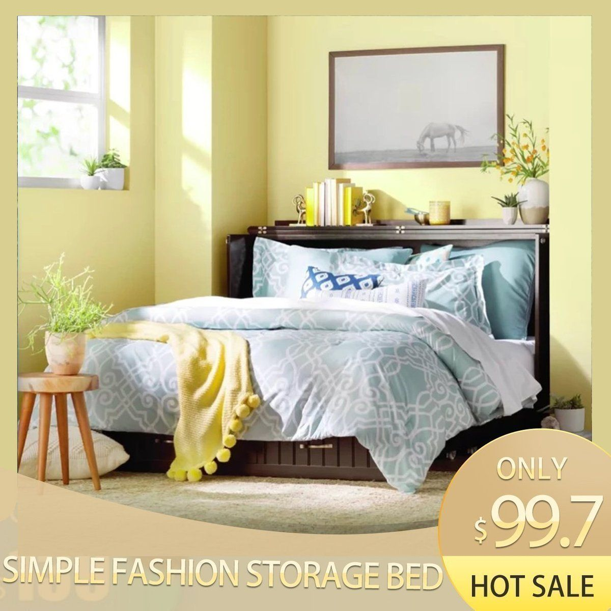 New Year For Sale Only 79 81 2020 New Simple Fashion Storage Bed Tototheyrdvt In 2020 Adjustable Beds Storage Bed Murphy Bed