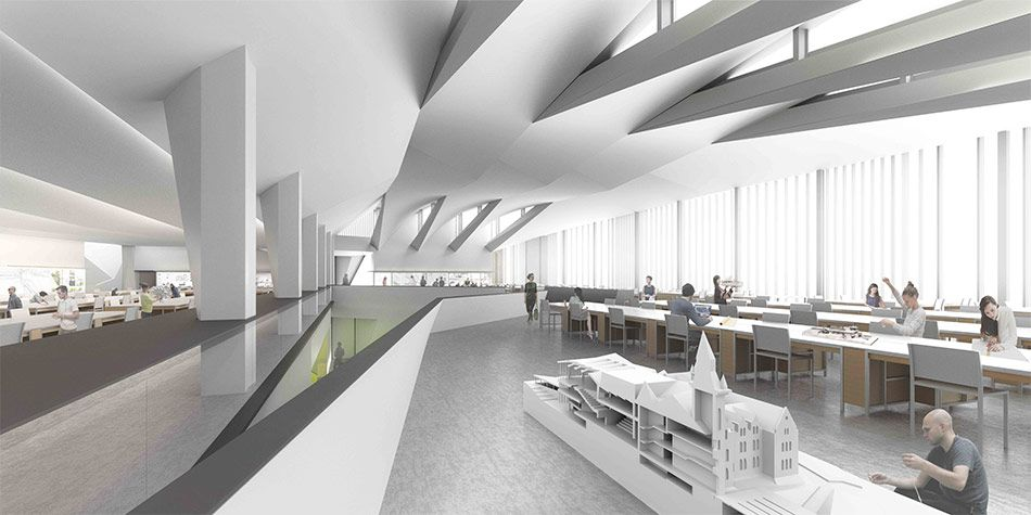 Unveiledu003e NADAAA Designs An Architecture School For The University Of  Toronto