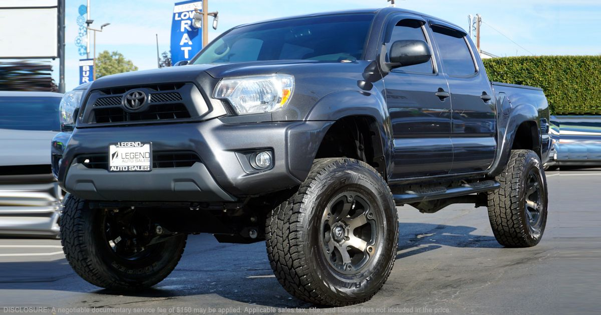 """2012 Toyota LIFTED •TRD Package •17"""" wheels •All"""