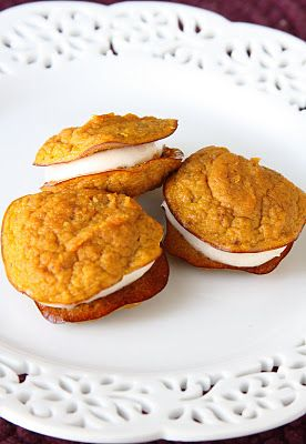 ShowFood Chef: Pumpkin Pie Cookies - 4 Ingredients - Simple Saturday and Gluten Free