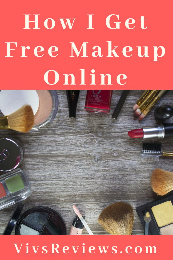 How To Get Free Makeup Online Vivs Reviews Get Free Makeup Online Makeup Free Makeup