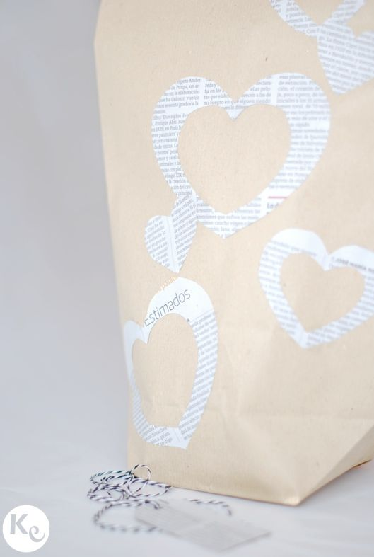 Valentine's wrapping #DIY