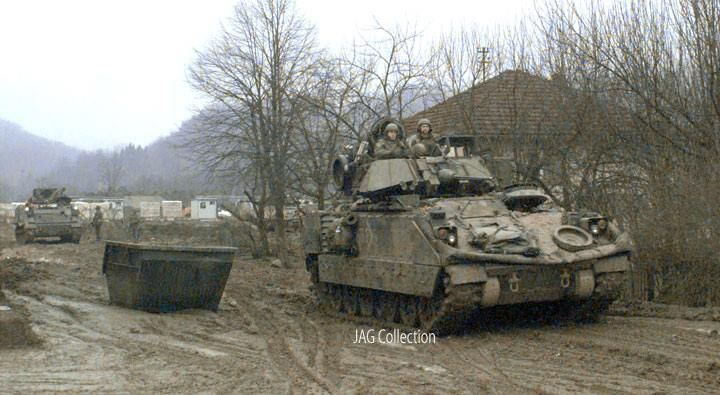 Punctuality platoon and bradley fighting vehicles