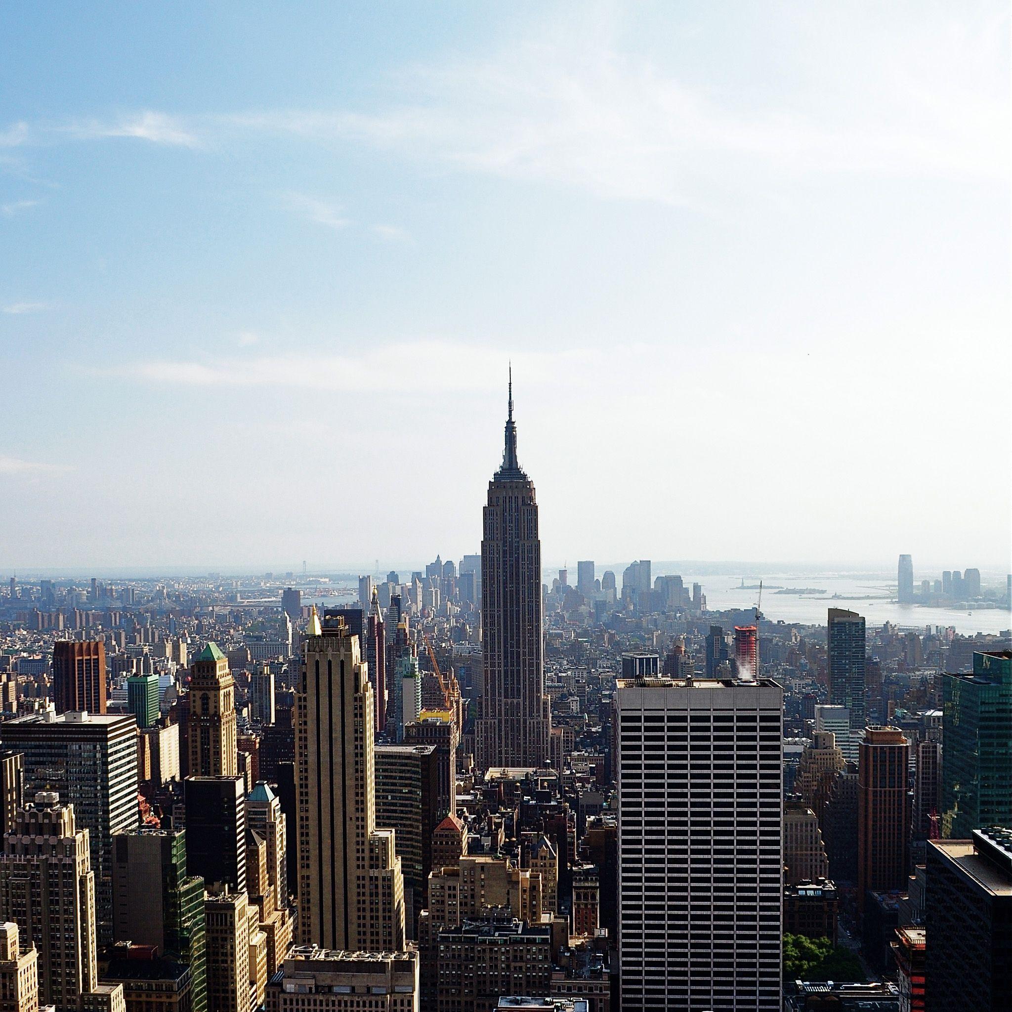 Empire State Building Ipad Wallpaper New York City Images New York City Ipad Air Wallpaper