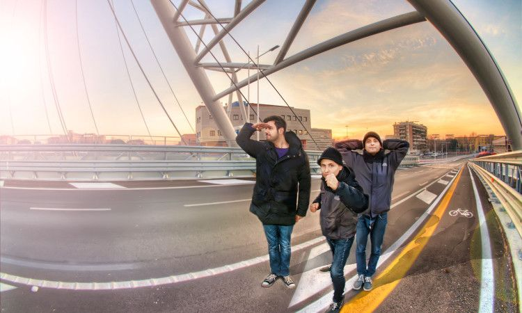 Machine Hunter Squad. HDR on Ostiense Bridge/Ponte Roma | HDR Photography Giuseppe Sapori