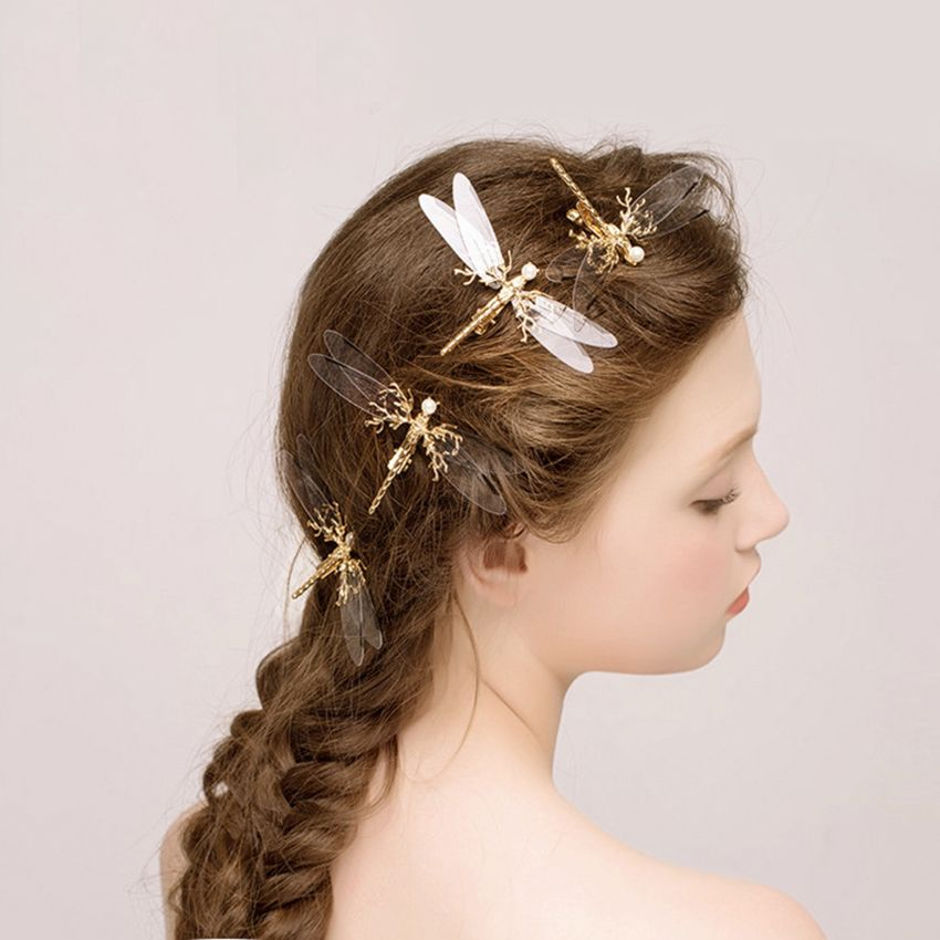 Find More Hair Jewelry Information About Transparent Bridal Hairpin Wedding Hair Pins Plat Wedding Hair Accessories Bride Hair Clips Butterfly Hair Accessories