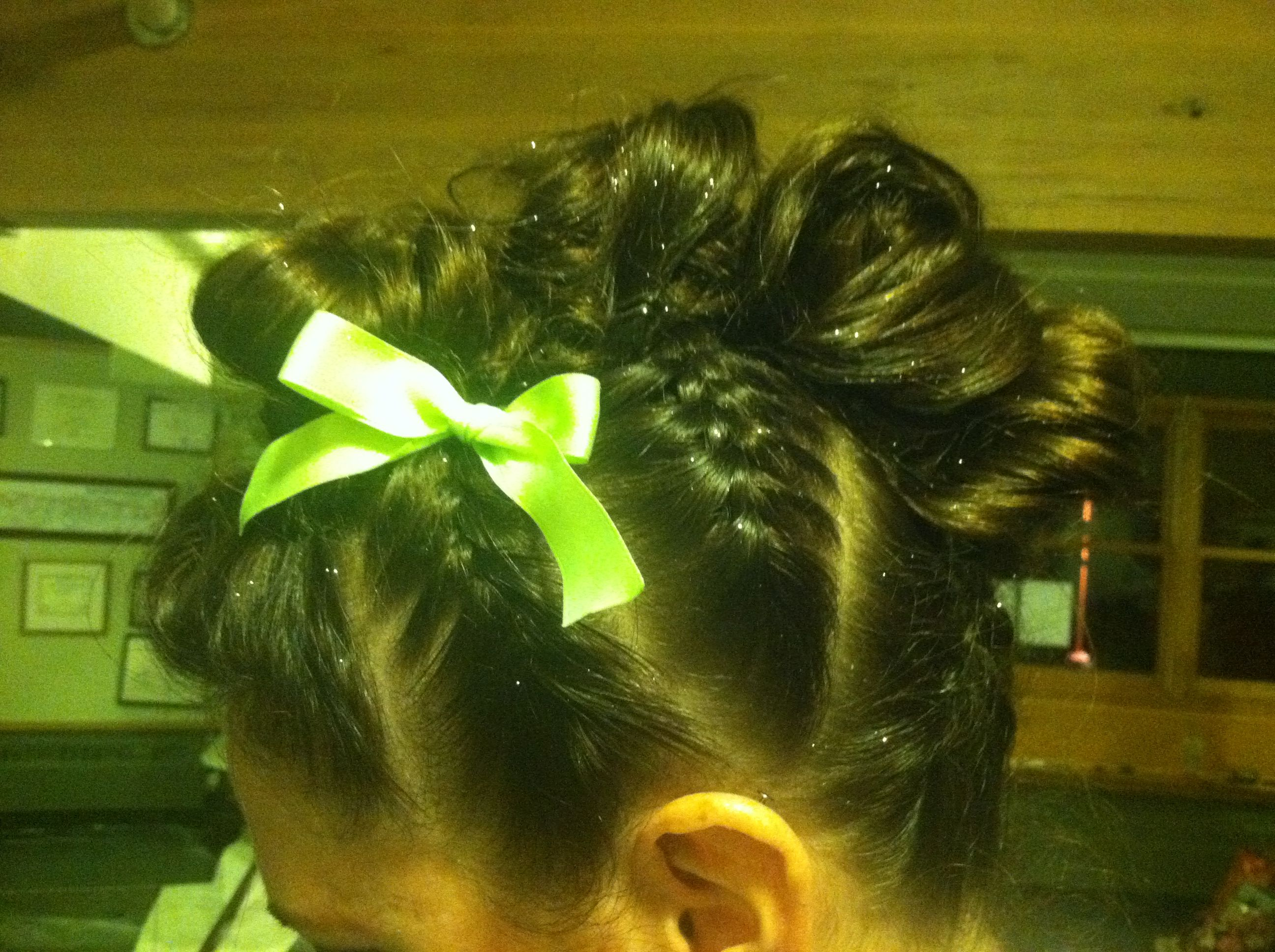 My mohawk braid hairstyle used it for a dance performance on the