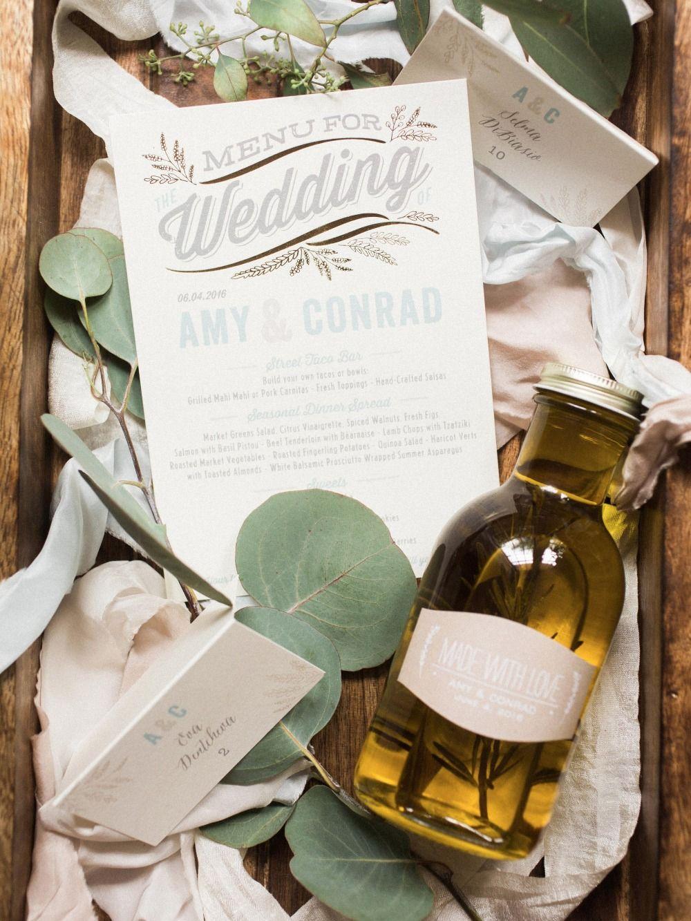 Perfect Olive Oil Wedding Favor Gift - Wedding Idea 2018 ...