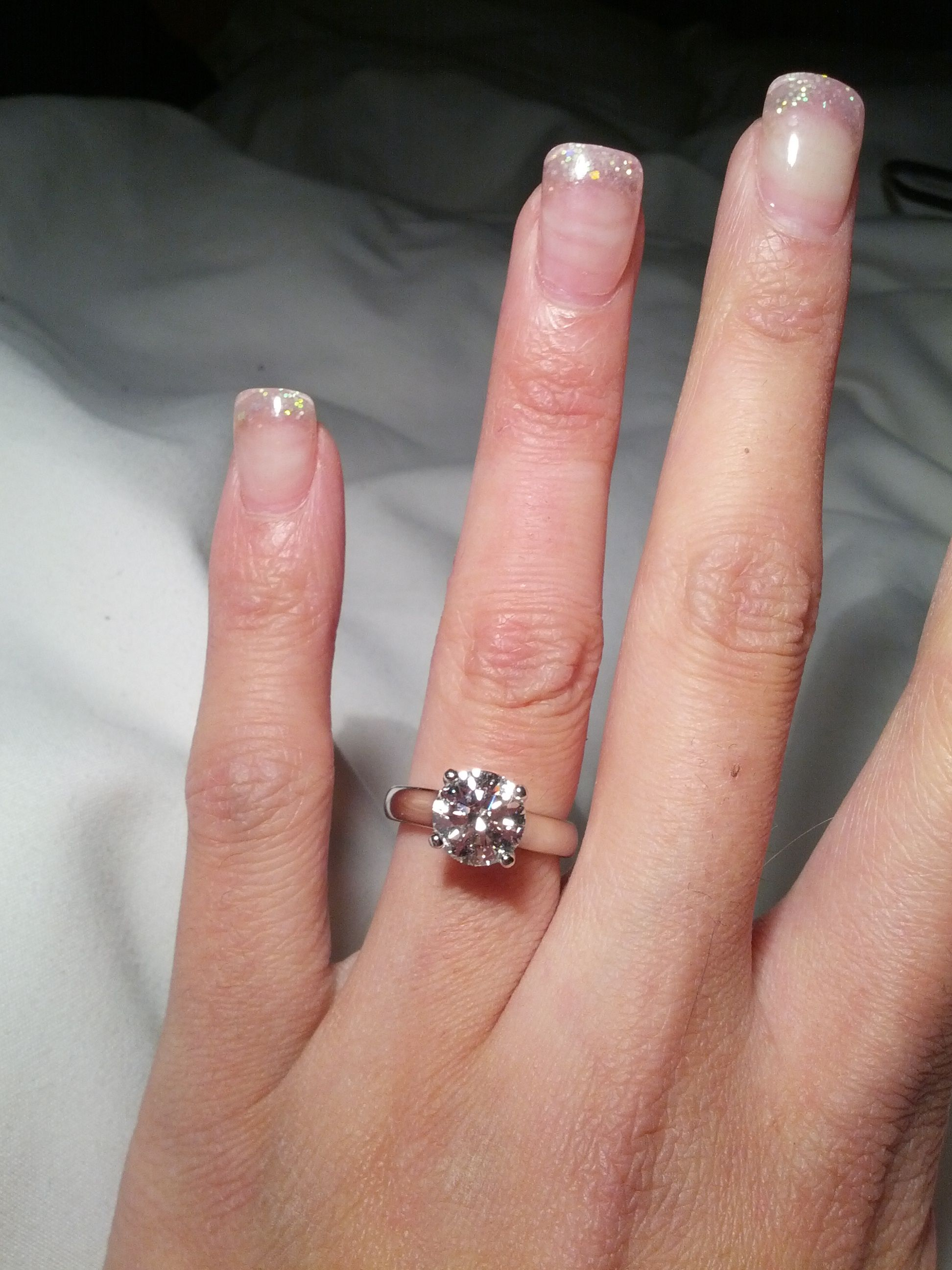 Size 5, 2.31 ct, GIA 3x Ideal H&A, VS2, I | One day... | Pinterest ...