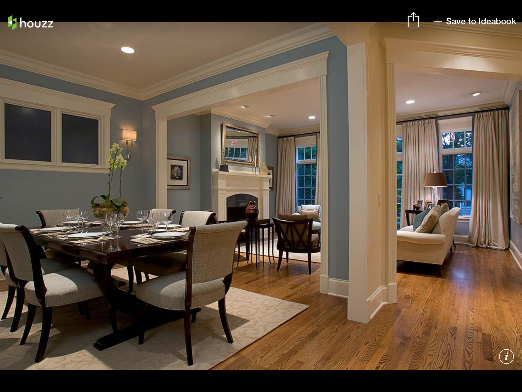 blue dining room. | diningroom | pinterest | blue dining rooms