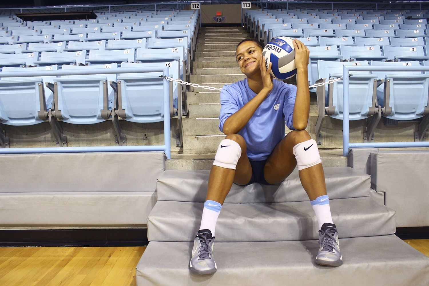 Give Up Or Give Everything Taylor Treacy Transforms Into Leader For Unc Volleyball Volleyball Taylor Dream School
