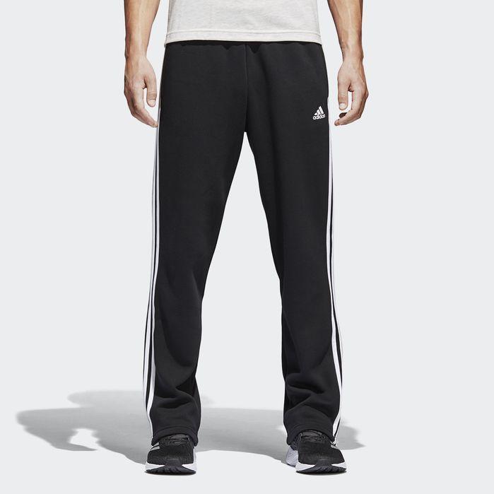 Essentials 3 Stripes Fleece Pants | Products | Fleece pants