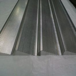 Perforated Corrugated Panels Outdoor Products Los Angeles Steelogic Metal Systems Corrugated Roofing Steel Panels Corrugated Metal