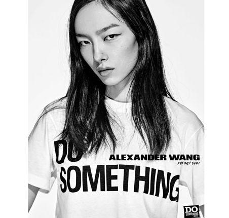 Kampania Alexander Wang x DOSOMETHING z gwiazdami, Fei Fei Sun