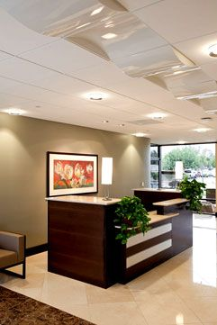 Perfect Dental Office Reception Design | Inc   Interior Design Portfolio   Medical  And Dental Office Design