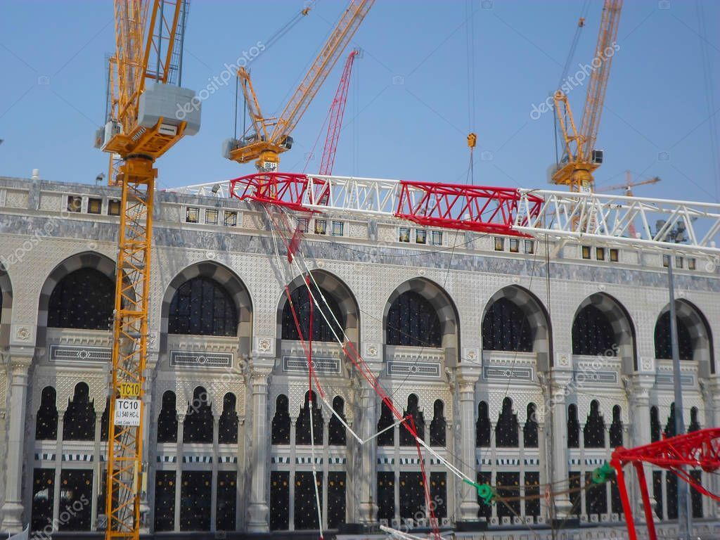 Mecca Saudi Arabia November 2017 Pilgrims Surrounds Area Giant Crane St Affiliate November Arabia Mecca Saudi Ad Mecca Saudi Arabia Pilgrim