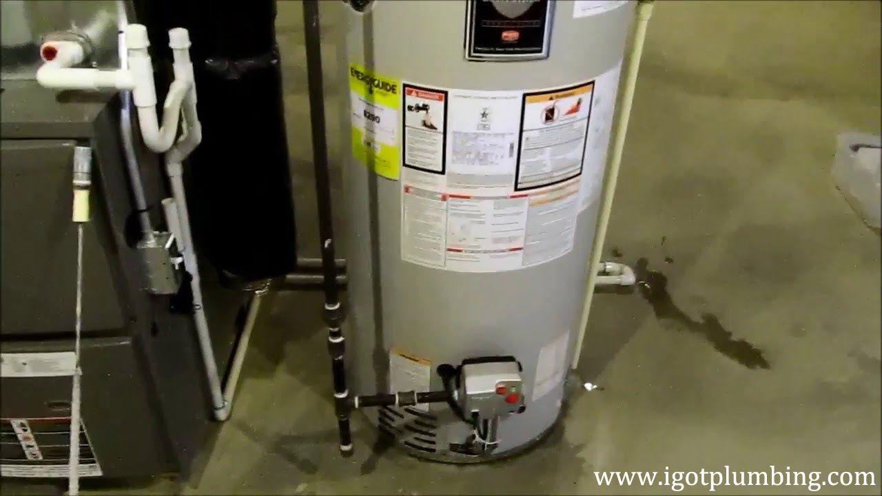 The Most Effective Method To Remove An Old Water Heater Water Heater Anode Rods Heater